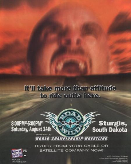 Image result for wcw road wild 1999