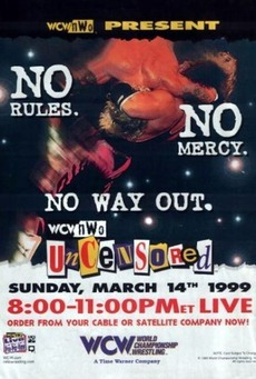 Image result for wcw uncensored 1999