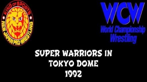 Super Warriors In Tokyo Dome 1992
