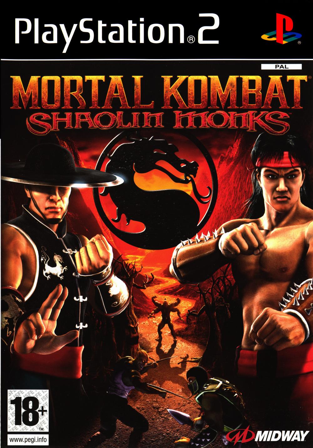 Mortal Kombat Shaolin Monks (PS2)