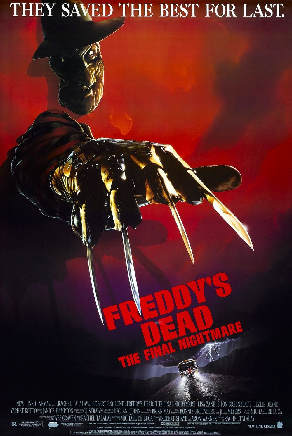 A Nightmare On Elm Street 6: Freddy's Dead (1991)