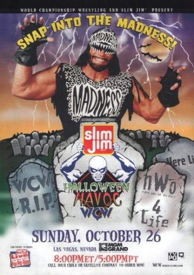 Image result for wcw halloween havoc 1997