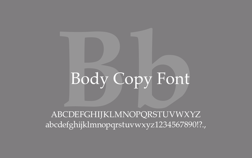 Type Body Font