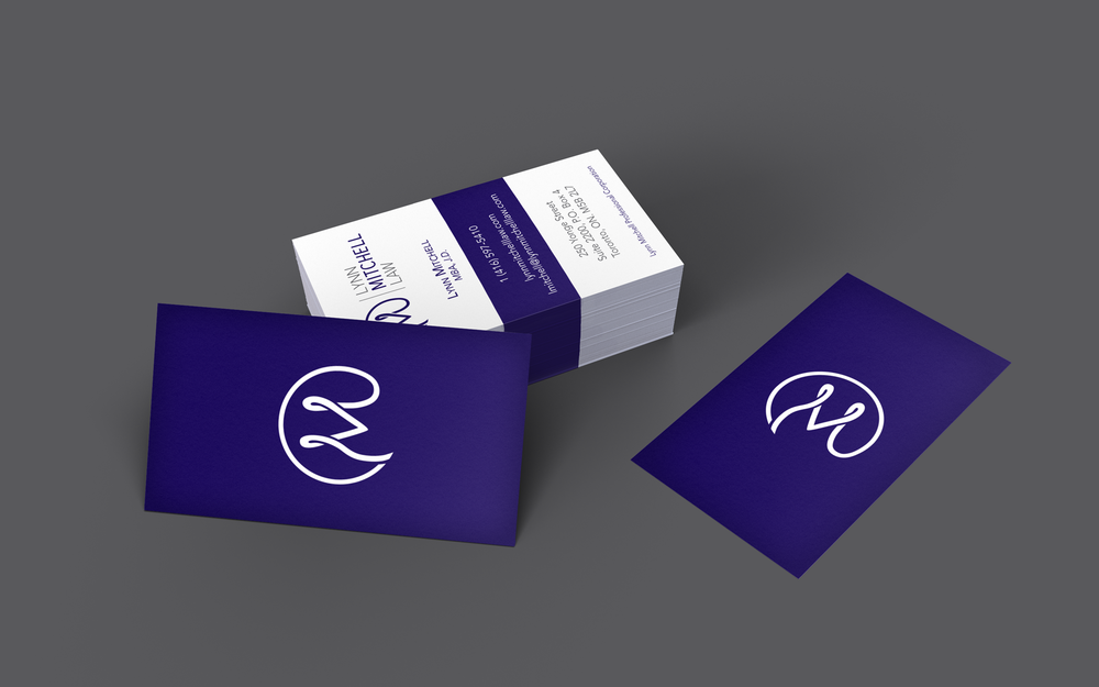 Lynn Mitchell Law Business Cards
