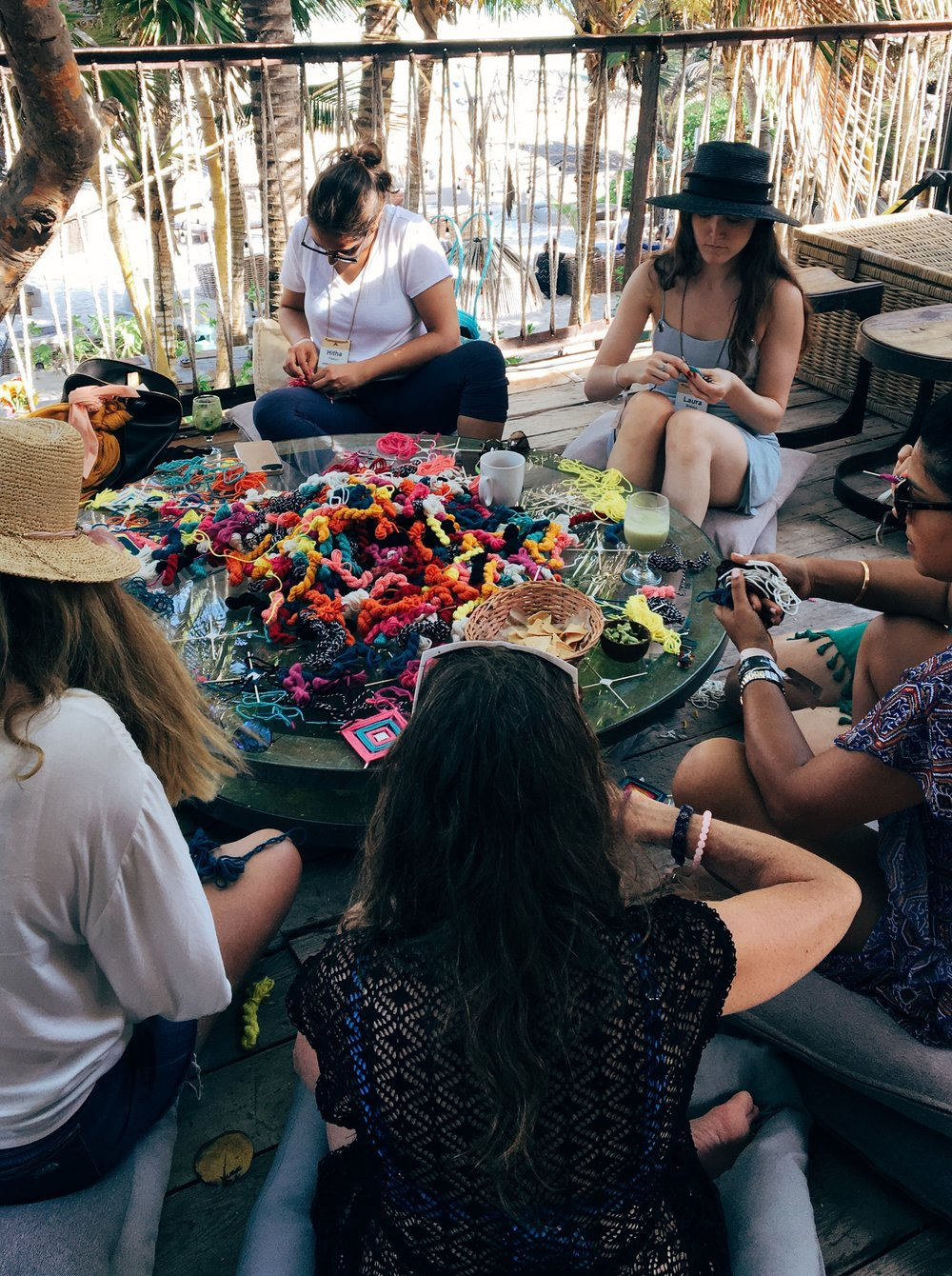 OJO WEAVING,  SUMMIT TULUM