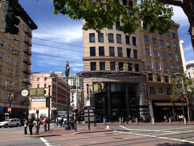 The Hack Reactor building sits in Mid-Market San Francisco.