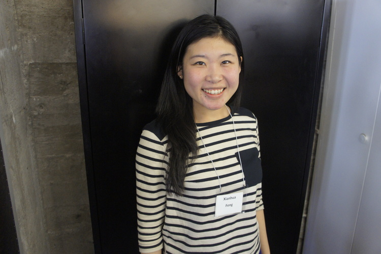 Xianhui Feng is the first recipient of the Level the Field Scholarship.