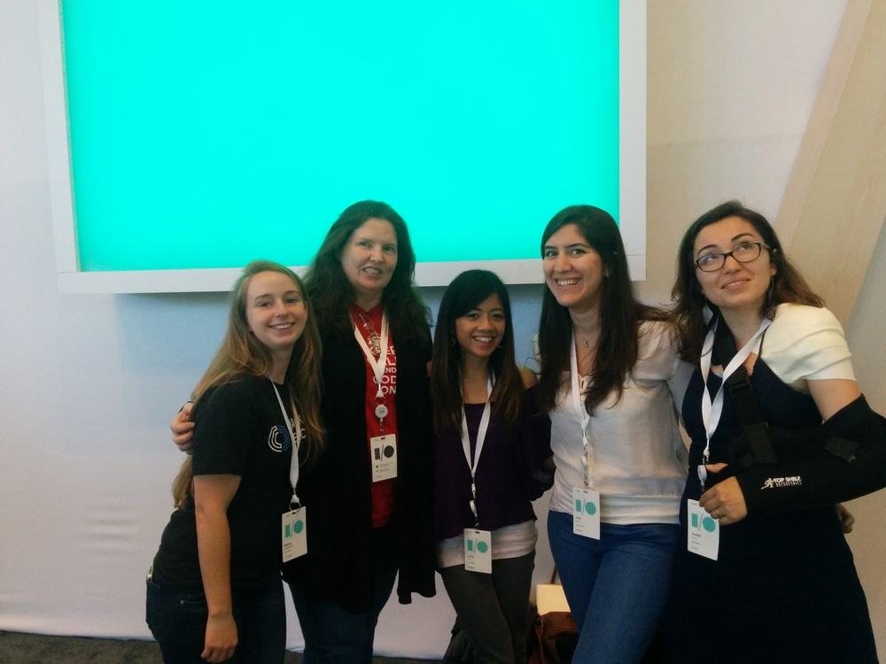Hack Reactor was well represented at Google I/O 2014.