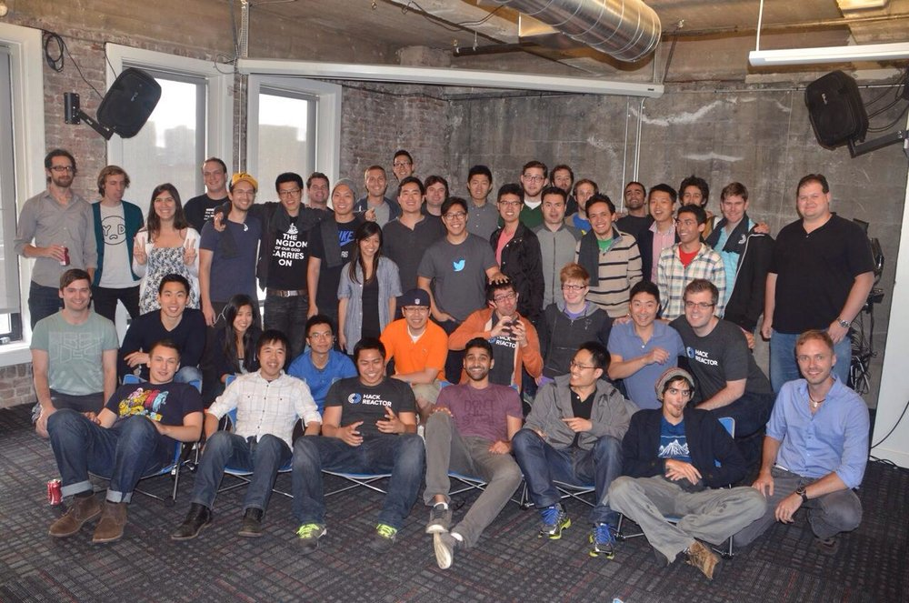 Scott's San Francisco campus cohort
