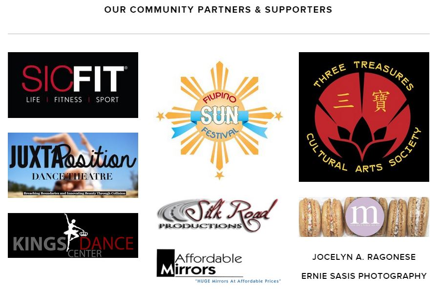 Our Family of Supporters & Community Partners
