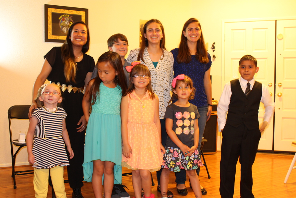 Apprentices from the 3 Be3ts Spring 2015 Piano Recital!