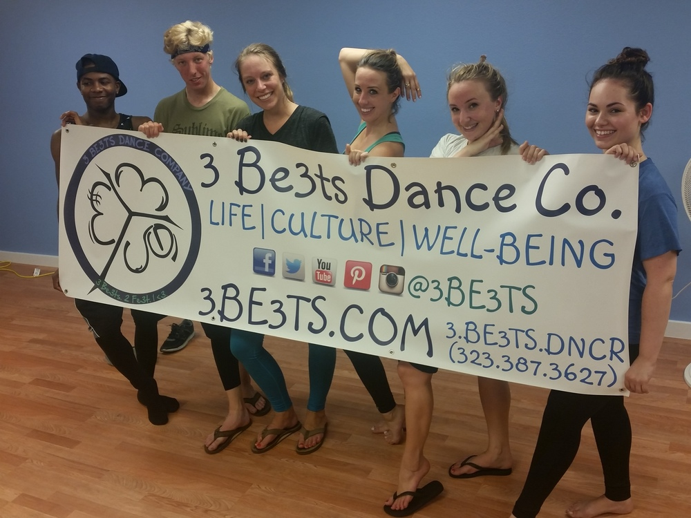 Choreographer Tanya Lewis and the KO Dance Co. came for rehearsals! ^_^