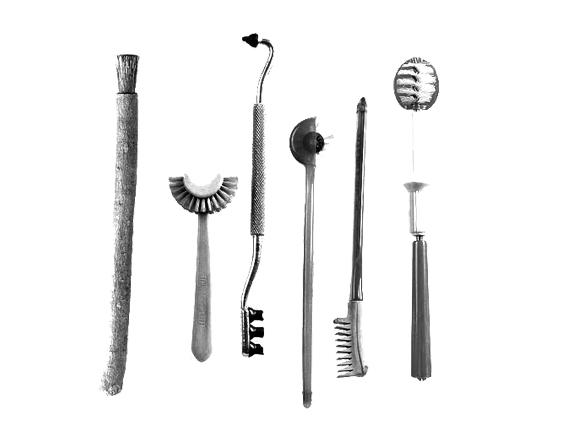 تاريخ العناية الصحية بالفم من المتحف الوطني لطب الأسنان.