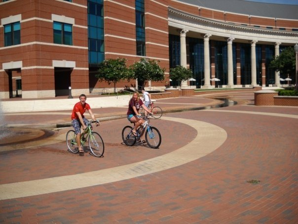 Campus Tour Guide: A focus on BIKES will emerge
