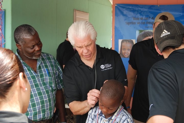 Starkey Foundation - In 1967, William F. Austin started a small hearing aid repair store after dropping out of medical school. Today, It operates around the world and is a member of the Clinton Global Initiative.
