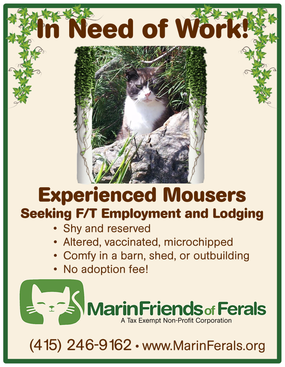 Marin Friends of Ferals