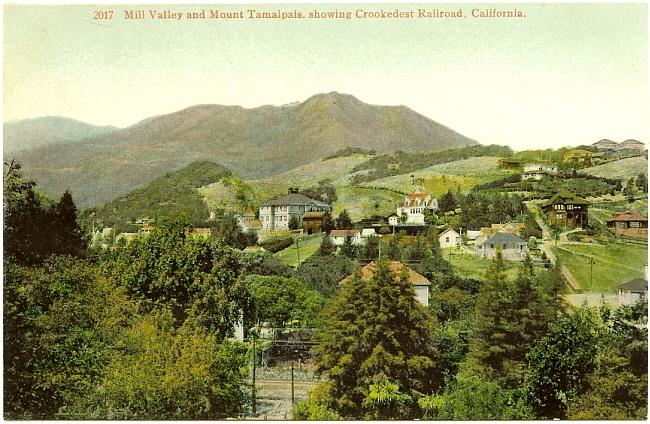 PostcardMillValleyCAwithMountTamalpaisCirca1910.jpg