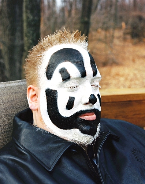 Violent J of Insane Clown Posse for Spin Magazine