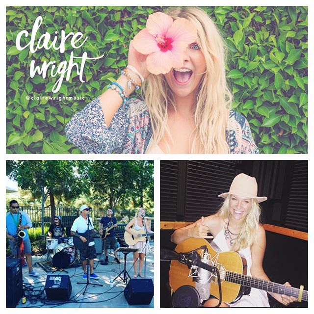 October 23rd ~ Live at EDADS Family Fun Night Singer/Songwriter @clairewrightmusic. 🌴🌊😎🎶 (link in bio for more info)