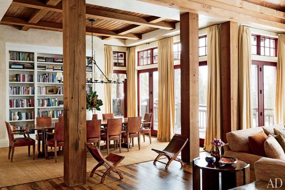 Montana Ski House by Michael S. Smith