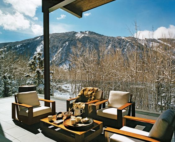 Aerin Lauder's Aspen Home by Daniel Romualdez