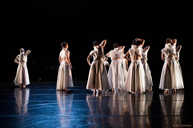 The drama of dance at #universityofwashington ! Costume design by @christinemeyers & @michelleiswell . Photo by Tim Summers. Choreography by Bruce McCormick. #fashion #art #dance #costume #costumedesign #choreography