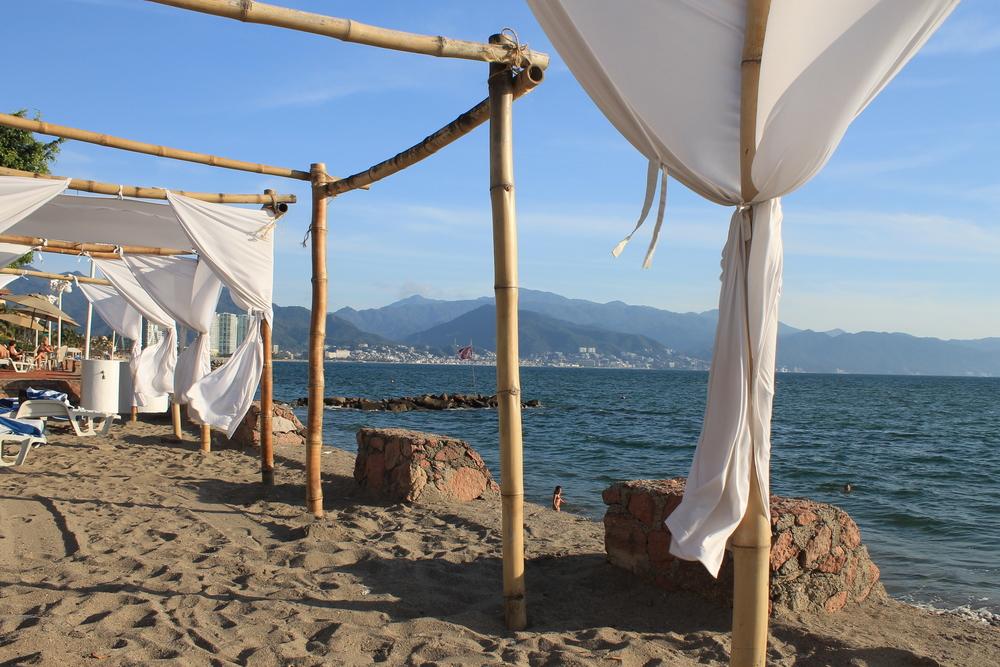 Relaxing in Vamar Vallarta Hotel Beach.