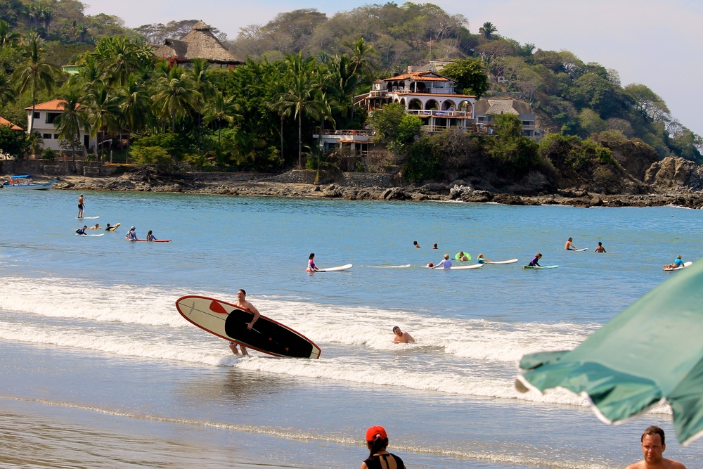 Sayulita, Nayarit. Neighboring town approximately half hour away from Puerto Vallarta. Great place to visit if you love surfing!