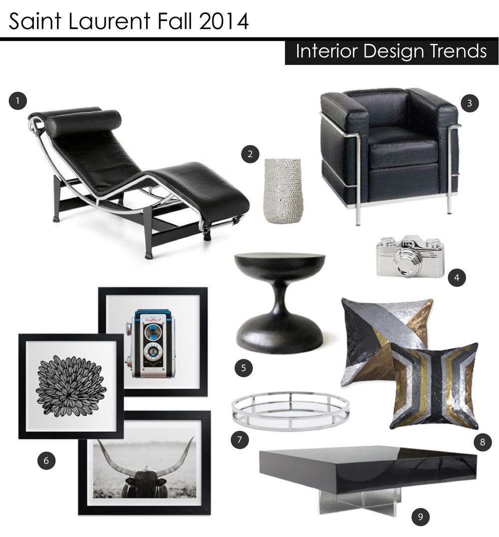 Saint Laurent 2014 Fall Trends