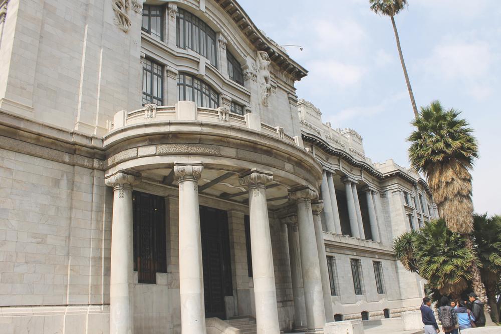 Palacio Bellas Artes 3