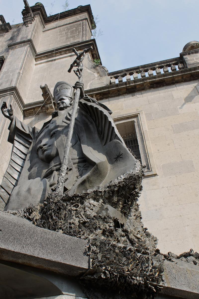 Juan Pablo II_Catedral Metropolitana