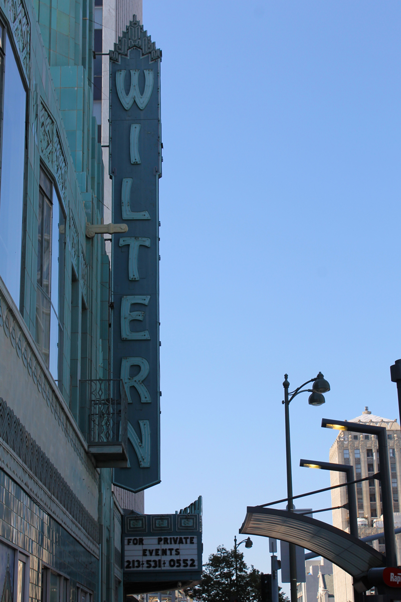The Wiltern Theatre in Downtown Los Angeles, Ca.