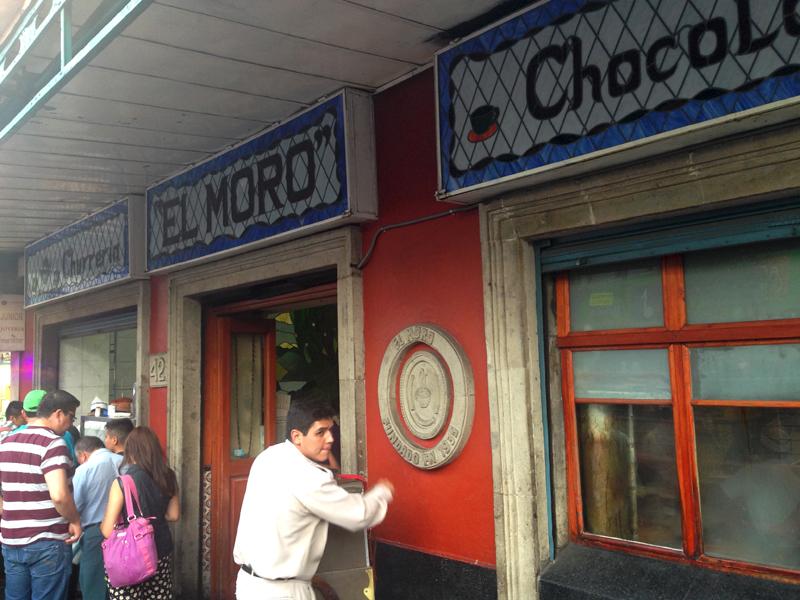 Churreria El Moro Centro Historico