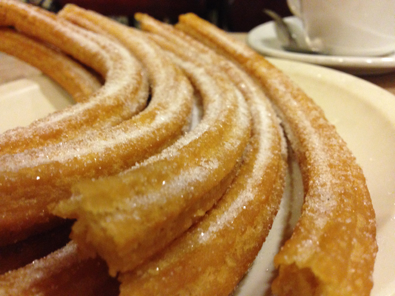 Churros from El Moro