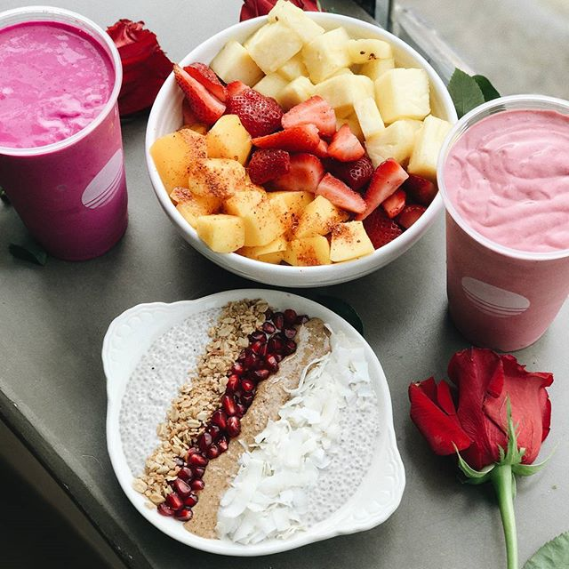 sweet dreams are made of these💜 #chiapudding #frutaconchile #batidos #buenasvibes #visitjugos