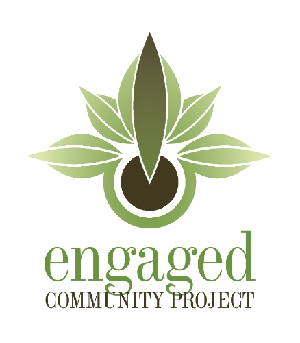 The Engaged Community Project brand identity by designer Sandra Sampson, Simple Modern Style