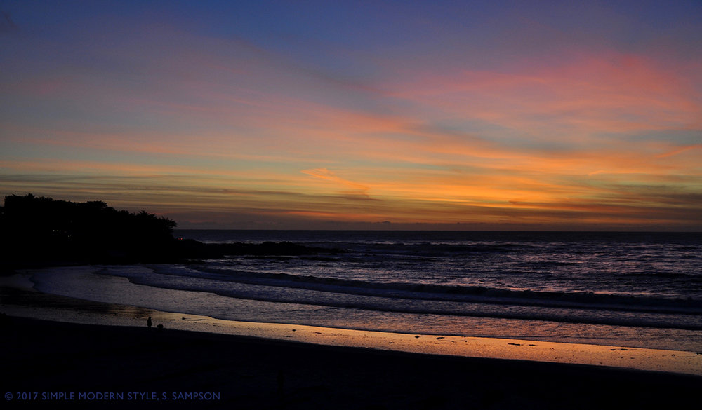 Sunset in Carmel, California