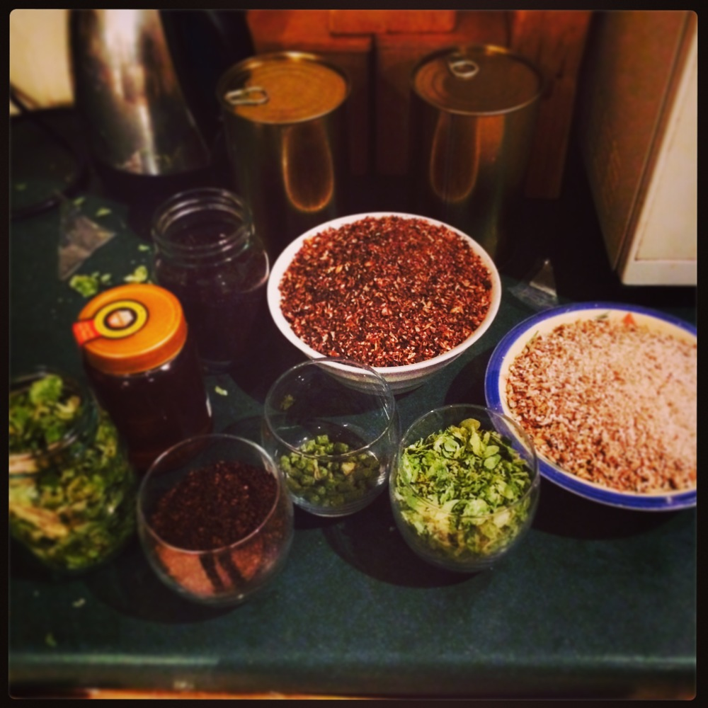 Steeping Grains, Hops and Liquid Malt Extract