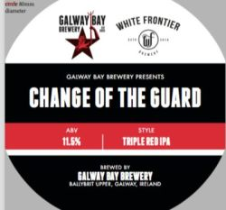 Change of the Guard, collab by Galway Bay brewing & White Frontier