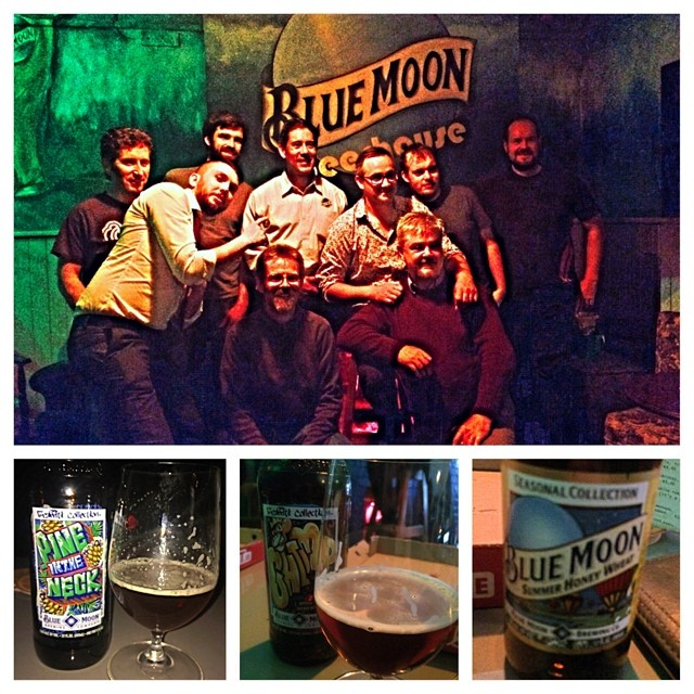 Great evening yesterday with the founder of Blue Moon -Keith  Villa with @HomebrewClubIrl