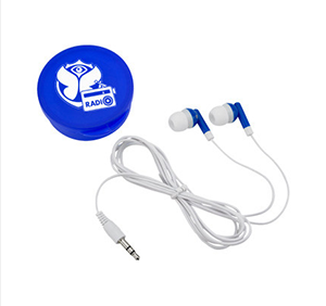 EARBUDS — $905 - Your logo will be printed on the case.
