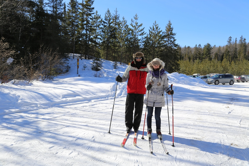 Cross Country Skiing Algonquin Park