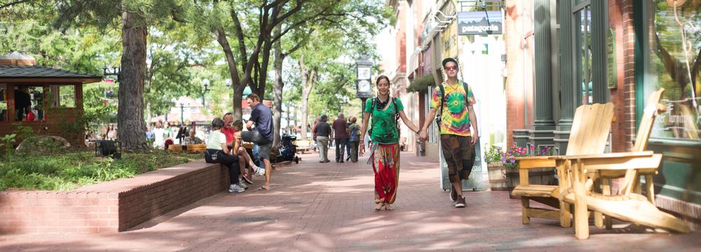 Boulder love - hippie tie dye