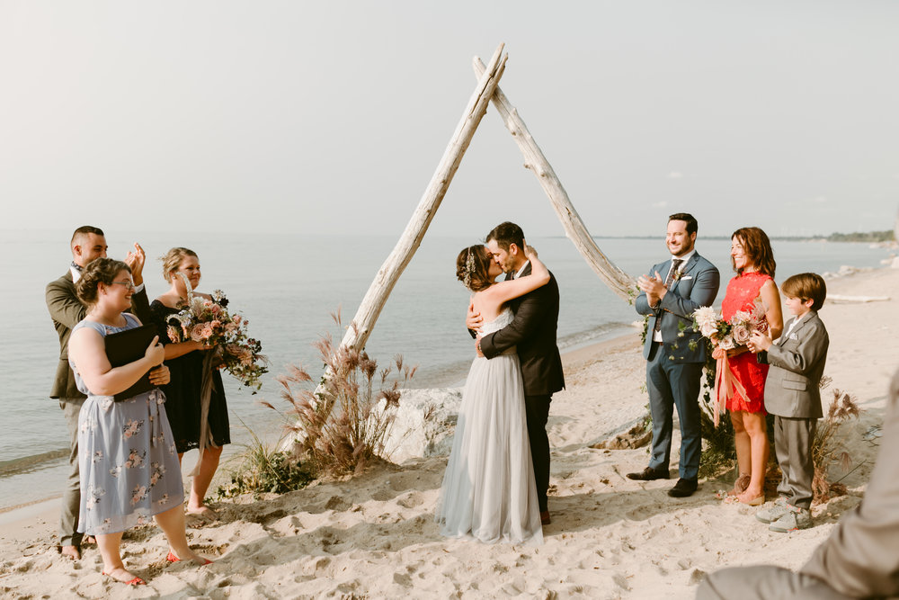 Beach Wedding - Grand Bend Ontario-660.jpg