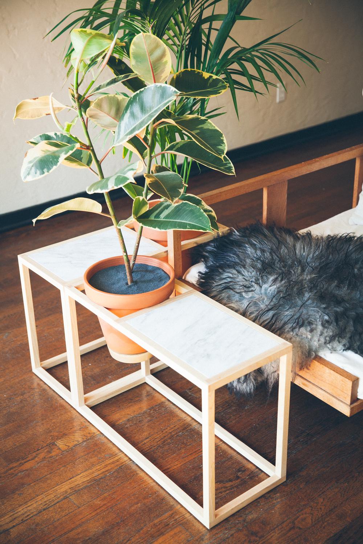 Frame Planter   Side Table