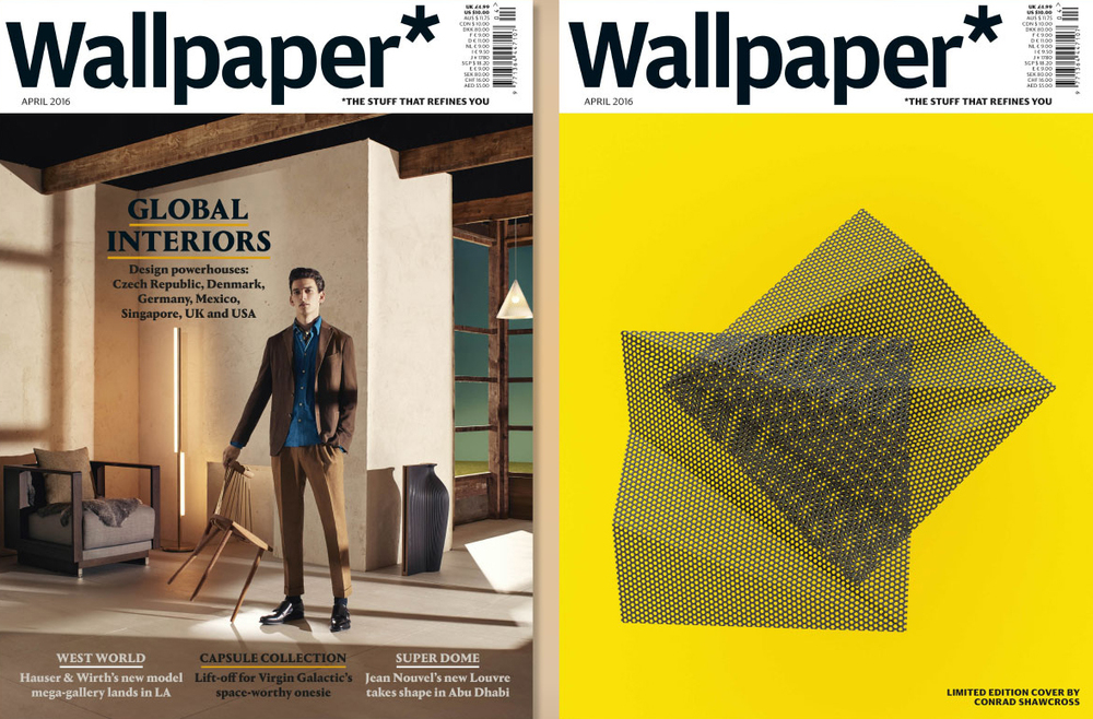 Wallpaper Magazine / Origami Planter /  April 2016