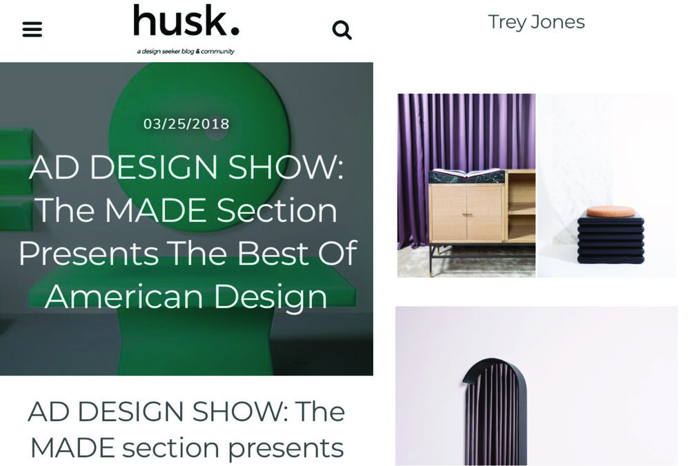 Husk Design Blog / March 2018