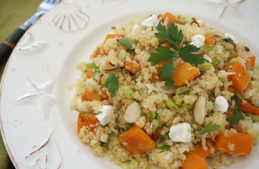 Roasted Butternut Squash Quinoa Salad