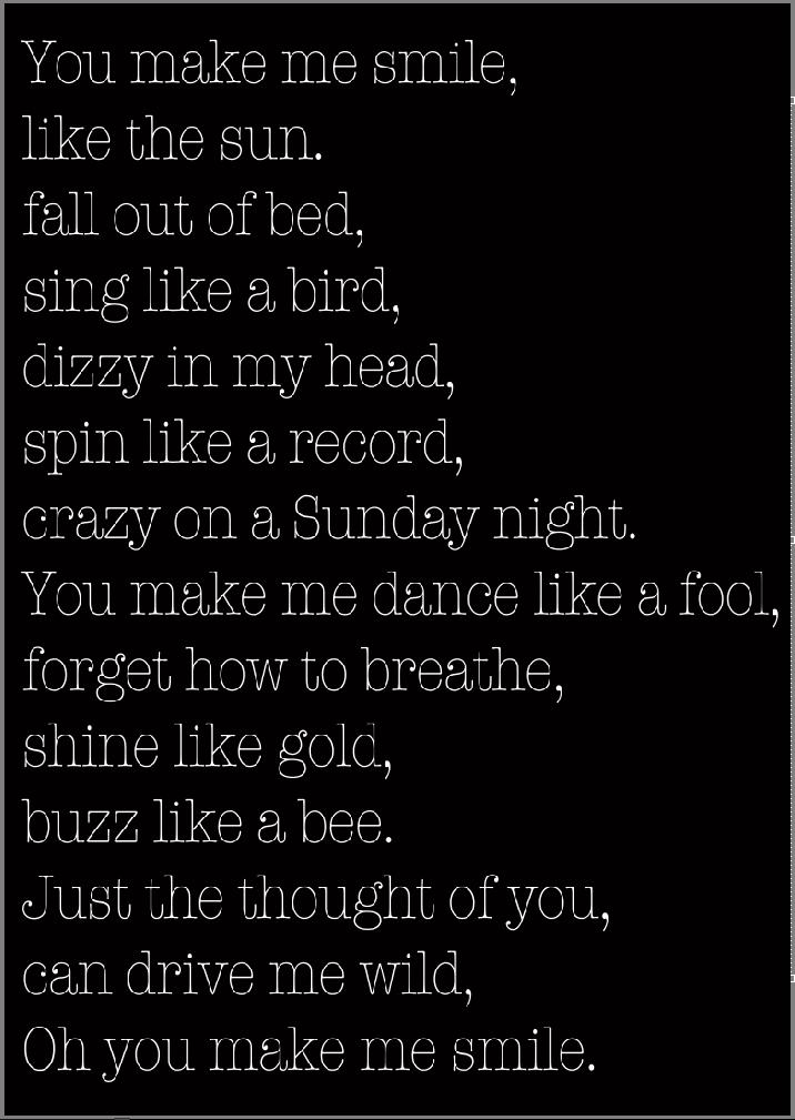Lyric shot at the night lyrics : memories on walls.