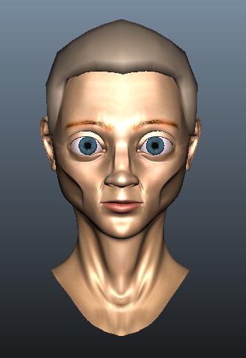 Neutral face
